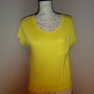 🔴 5 for $15 Yellow High Low Top